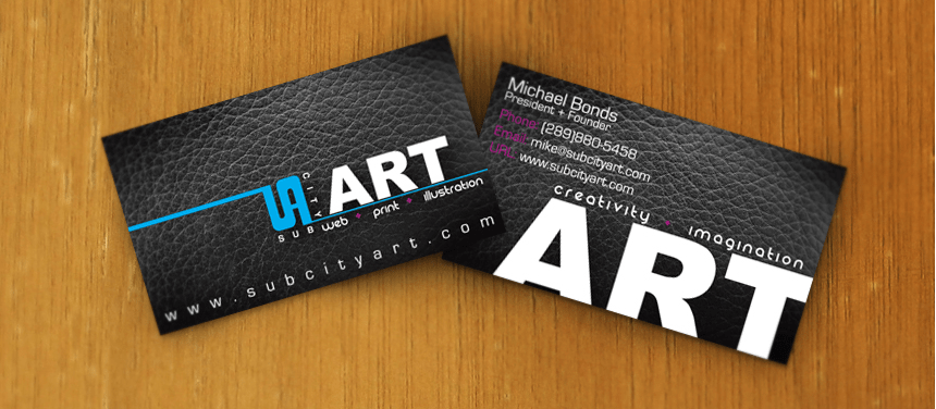 In card visit bằng phương pháp in nhanh.