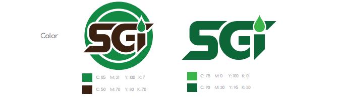 Thiết kế logo cty SGI bên quận 2.