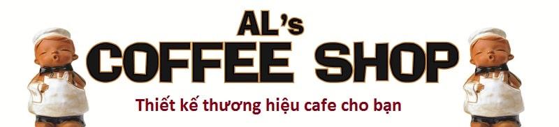 Thiết kế thương hiệu cafe.
