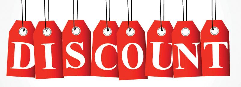 Khuyến mãi coupon khi in tiêu đề thư, letterhead.