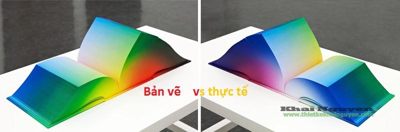 Lệch màu trong thiết kế in ấn