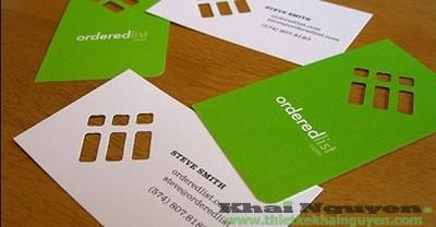 Mẫu thiết kế card visit đẹp TP HCM.