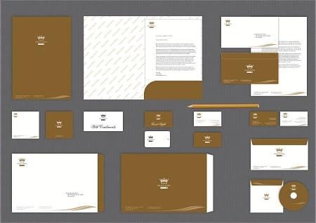 Folder là thành phần quan trọng của bộ nhận diện thương hiệu