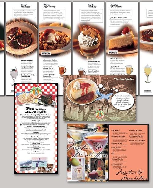 Thiết kế in menu món kem
