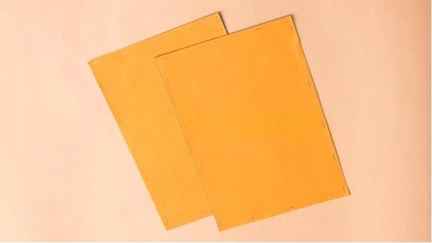 Thiết kế folder handmade