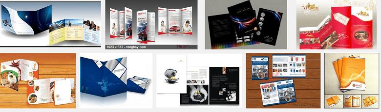Thiết kế brochure rẻ đẹp.
