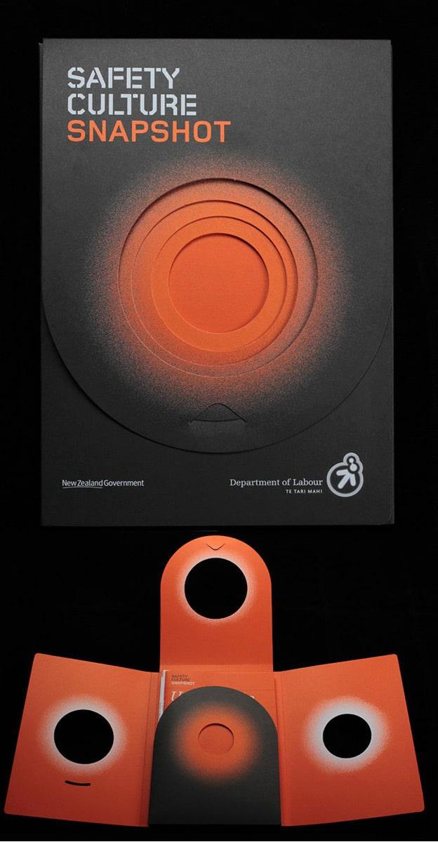 Thiết kế folder tròn