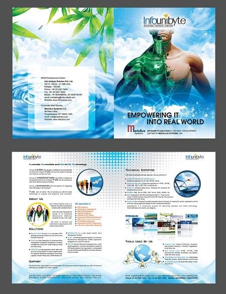 Bộ brochure thiết kế rất đẹp.