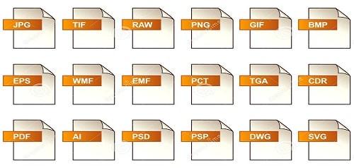 Định dạng một số file thiết kế trong in ấn