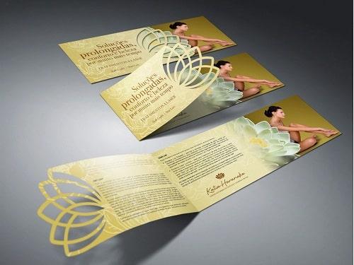 Mẫu in brochure phong cách