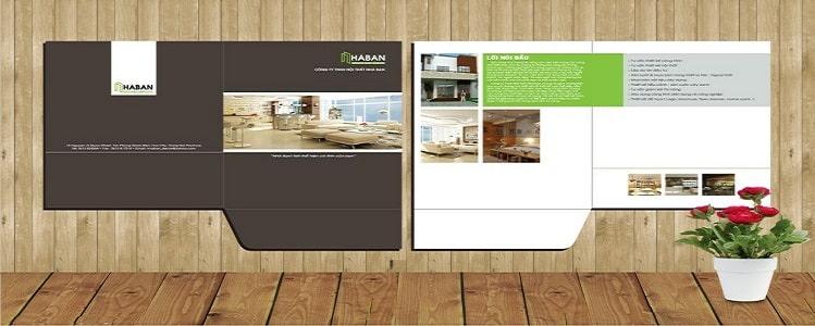 Mẫu thiết kế folder chuyên nghiệp