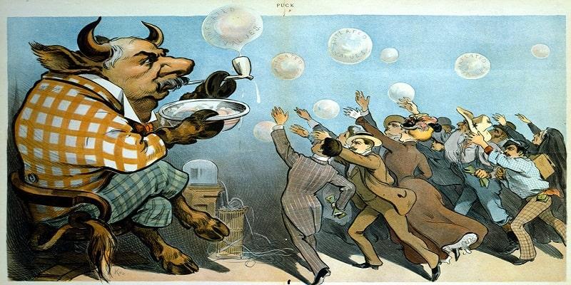 Biếm họa về thị trường
