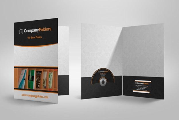 Ví dụ thiết kế Foder có CD