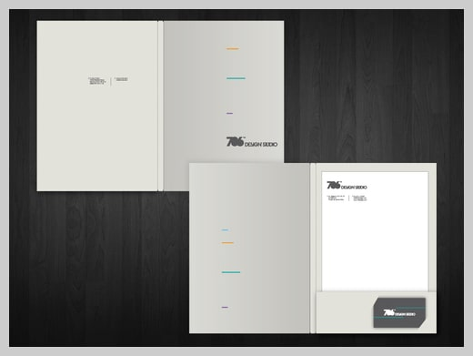 mẫu in folder chuẩn