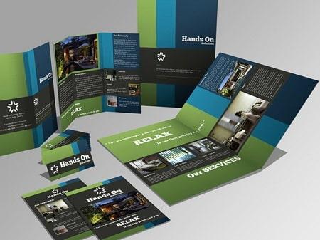 Thiết kế brochure công ty chuẩn đẹp