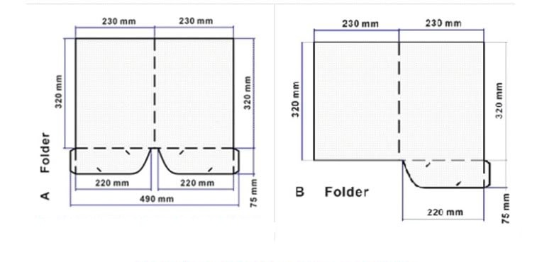 Thiết kế folder chuẩn