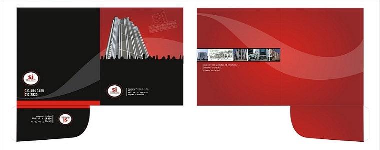 thiết kế folder giá rẻ đẹp