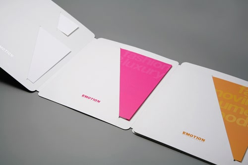 Thiết kế folder đặc biệt