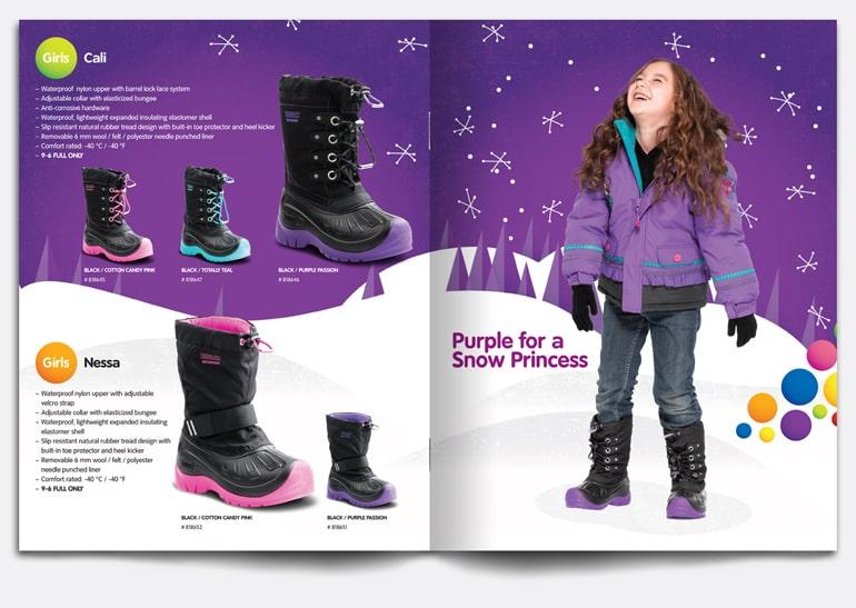 Catalogue màu tím