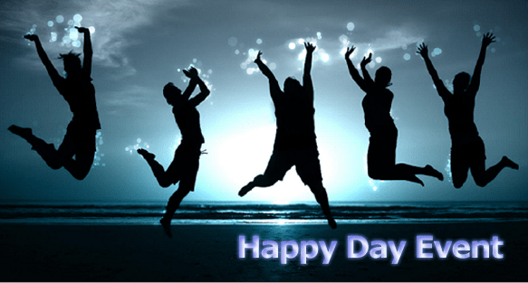 Sự kiện in ấn happy day
