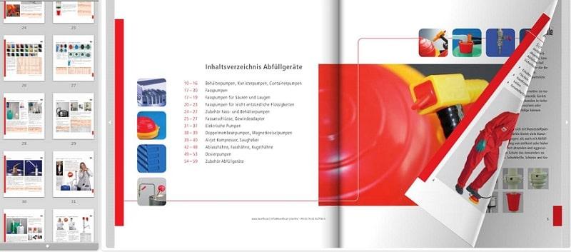 In ấn thiết kế catalogue ấn tượng