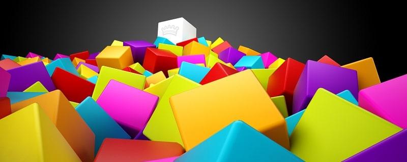 Màu sắc thiết kế catalogue