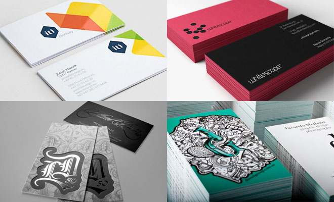 Mẫu thiết kế in card visit trong lĩnh vực thời trang