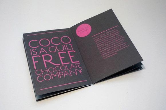 Thiết kế catalogue màu đen