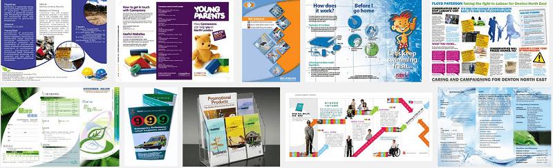 Thiết kế leaflet chuyên nghiệp