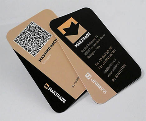 Card visit QR Code