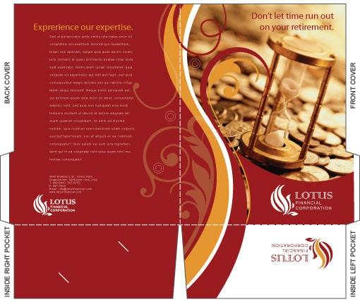 Chế bản in brochure folder