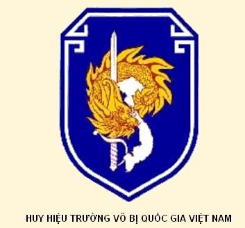 Mẫu thiết kế logo phạm phong thủy của trường võ bị đà lạt