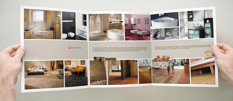 Mẫu brochure nội thất