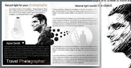 Phong cách hoài niệm trong thiết kế brochure