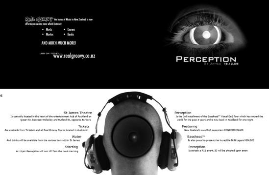 Mẫu thiết kế brochure trắng đen đơn giản
