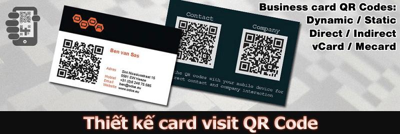 Name card QR Code