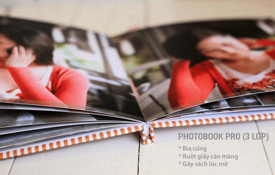 In photobook 3 lớp