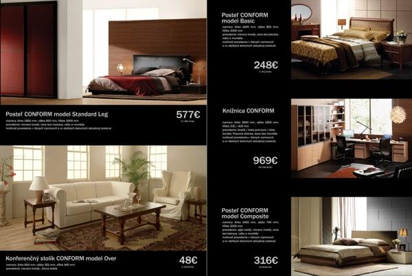 thiết kế brochure tông màu đen