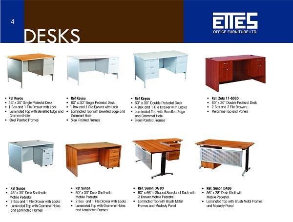 Mẫu thiết kế brochure công ty nội thất tầm trung
