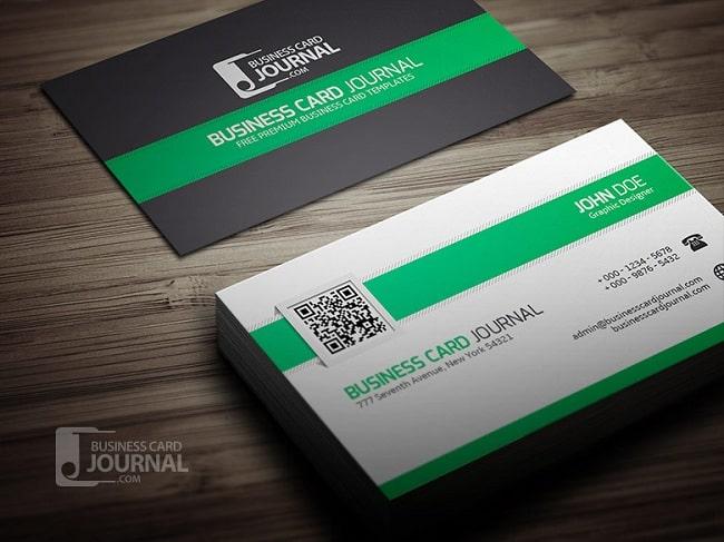 Thiết kế card visit QR Cdoe