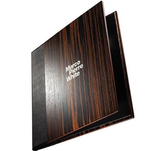 Bìa wood menu