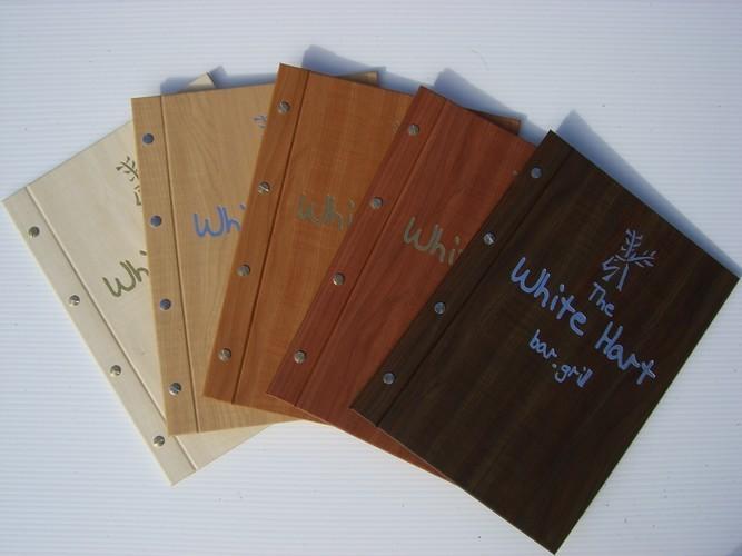 Bộ sưu tập wood menu hay menu gỗ