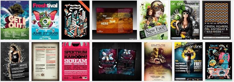 Sưu tầm một số mẫu thiết kế flyer – download nè.