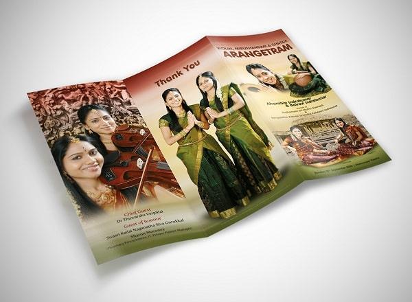 Mẫu in brochure du lịch