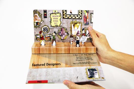 Thiết kế brochure popup vô cùng công phu