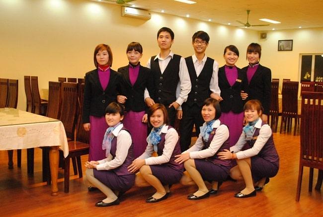 Thiết kế đồng phục nhà hàng