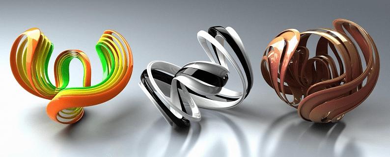Thiết kế logo trường phái 3D
