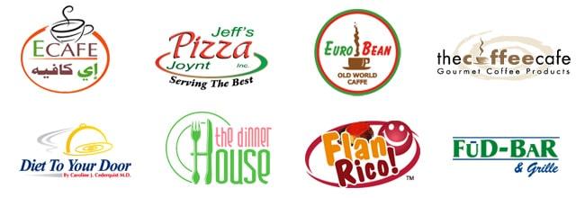 Mẫu thiết kế logo nhà hàng