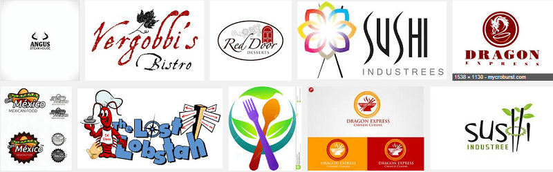Banner thiết kế logo nhà hàng