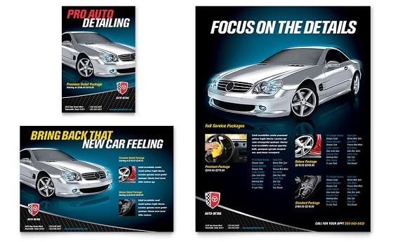 Mẫu in brochure siêu xe